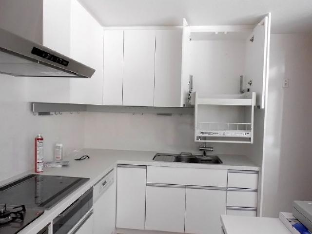 L型システムキッチン
